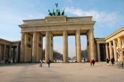 Puerta de Brandenburgo en Berlín, Alemania Fotografía de archivo