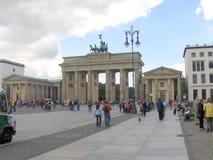 Puerta de Branderburg en Berlín fotos de archivo libres de regalías
