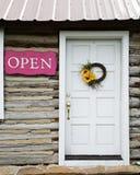 Puerta de cabina Fotos de archivo libres de regalías