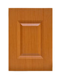 Puerta de cabina de madera Foto de archivo libre de regalías