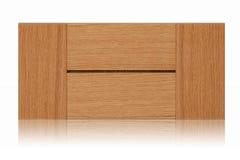 Puerta de cabina de madera Imagenes de archivo