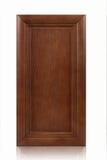 Puerta de cabina de madera Fotografía de archivo