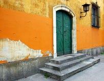 Puerta de calle Fotos de archivo libres de regalías
