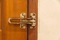 Puerta de cerradura Imágenes de archivo libres de regalías