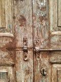 puerta de cerradura del vintage Fotos de archivo