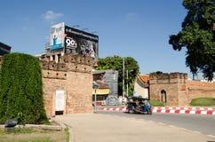 Puerta de Chiang Mai, Tailandia Foto de archivo libre de regalías