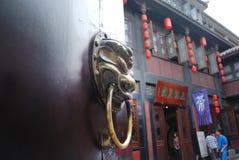 Puerta de China Foto de archivo libre de regalías