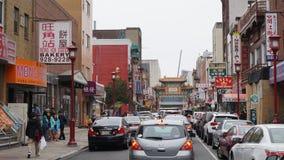 Puerta de Chinatown en Philadelphia Imagen de archivo