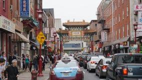 Puerta de Chinatown en Philadelphia Fotografía de archivo