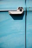 Puerta de coche vieja Fotografía de archivo
