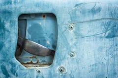Puerta de coche vieja del primer Imágenes de archivo libres de regalías