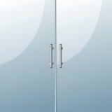 Puerta de cristal Fotografía de archivo libre de regalías