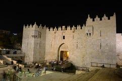 Puerta de Damasco imagen de archivo