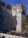Puerta de Damasco, Jerusalén Fotos de archivo libres de regalías