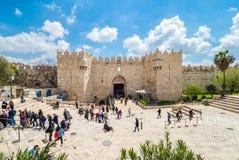 Puerta de Damasco fotos de archivo libres de regalías