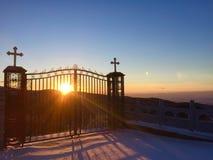 Puerta de dios imagen de archivo libre de regalías