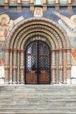 Puerta de entrada de la catedral de Dormition Imagen de archivo