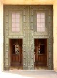 Puerta de entrada principal de la catedral Imagenes de archivo