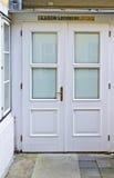 puerta de entrada a un laboratorio Fotografía de archivo