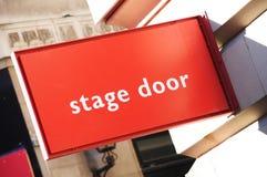 Puerta de etapa Fotografía de archivo