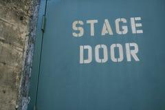 Puerta de etapa Fotos de archivo