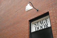 Puerta de etapa Fotografía de archivo libre de regalías