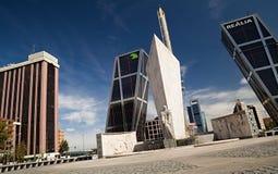 Puerta de Europa Stock Image