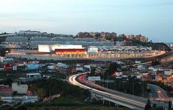 Puerta de Europa center Algeciras Royalty Free Stock Photo