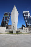Puerta de Europa. Madrid Royalty Free Stock Images