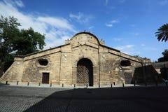 Puerta de Famagusta, Lefkosia (Nicosia), Chipre Foto de archivo libre de regalías