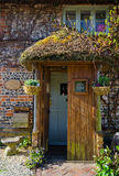 Puerta de Front Cottage Imagen de archivo