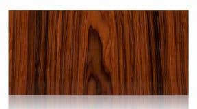 Puerta de gabinete del marco de madera aislada en blanco Imágenes de archivo libres de regalías