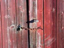 Puerta de granero Fotografía de archivo libre de regalías