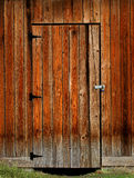 Puerta de granero Foto de archivo
