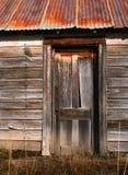 Puerta de granero vieja fotos de archivo
