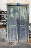 Puerta de Grunge Fotos de archivo