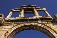 Puerta de Hadrian Foto de archivo