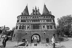Puerta de Holsten Imagenes de archivo