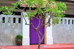 Puerta de Hotelroom Fotografía de archivo libre de regalías