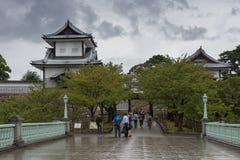 puerta de Ishikawa-lunes del parque del castillo de Kanazawa Fotografía de archivo libre de regalías