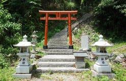 Puerta de Itsuku Shima Torri foto de archivo libre de regalías