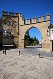 Puerta de Jaen, Baeza, Hiszpania. Obrazy Royalty Free