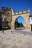 Puerta de Jaen, Baeza, Spain. Royalty Free Stock Images