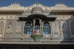 Puerta de Jaipur del palacio de Jaipur Fotos de archivo