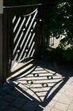 Puerta de jardín Fotos de archivo libres de regalías