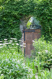 Puerta de jardín Imagen de archivo