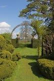 Puerta de jardín Imagenes de archivo