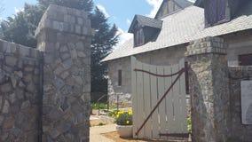 Puerta de jardín Fotografía de archivo