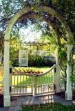Puerta de jardín en Birmingham Fotografía de archivo libre de regalías