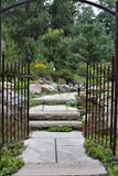 Puerta de jardín Imagen de archivo libre de regalías